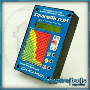 Compometer 2 Tabla de Diagnóstico ESR vs Capacidad